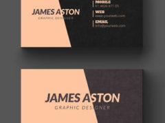 Визитка для дизайнера