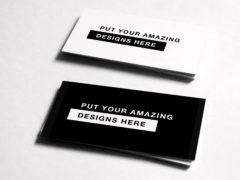 Дизайн шаблона визитной карточки PSD для строительной компании